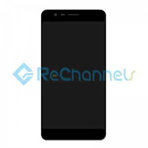 For Asus Zenfone 3 Zoom(ZE553KL) LCD Screen and Digitizer Assembly Replacement - Black - Grade S