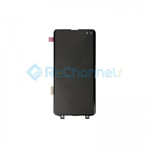 For Samsung Galaxy S10 Plus LCD Screen and Digitizer Assembly Replacement - Black - Grade S+