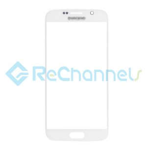 For Samsung Galaxy S6  Glass Lens Replacement - White - Grade S+