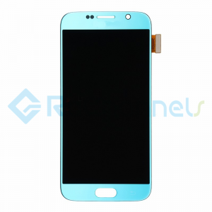 For Samsung Galaxy S6 LCD Screen and Digitizer Assembly Replacement - Blue - Grade S+