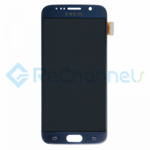 For Samsung Galaxy S6 LCD Screen and Digitizer Assembly Replacement - Black - Grade S+