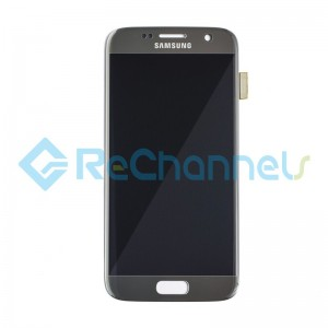 For Samsung Galaxy S7 LCD Screen and Digitizer Assembly Replacement - Silver - Grade S