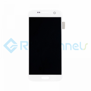 For Samsung Galaxy S7 LCD Screen and Digitizer Assembly Replacement - White - Grade S+