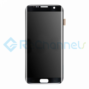 For Samsung Galaxy S7 Edge LCD Screen and Digitizer Assembly Replacement - Black - Grade S