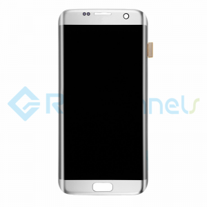 For Samsung Galaxy S7 Edge LCD and Digitizer Assembly Replacement - Silver - Grade S+