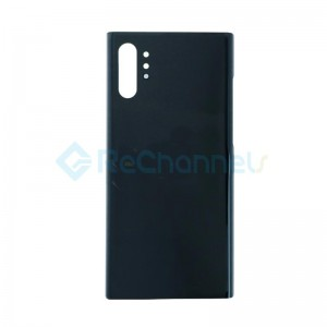 For Samsung Galaxy Note 10 Plus SM-N975 Battery Door Replacement - Black - Grade S+