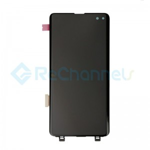 For Samsung Galaxy S10 LCD Screen and Digitizer Assembly Replacement - Black - Grade S+