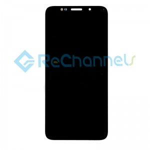 For Huawei Y5 2018 (Y5 Prime 2018) LCD Screen and Digitizer Assembly Replacement - Black - With Logo - Grade S