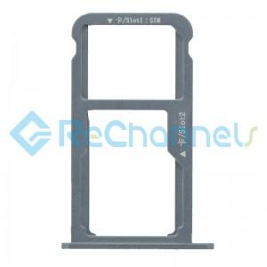 For Huawei Nova Plus SIM Card Tray Replacement - Gray - Grade S+