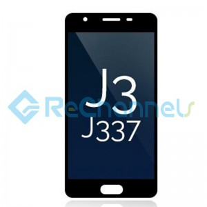 For Samsung Galaxy J3 (2018) LCD Screen and Digitizer Assembly Replacement - Black - Grade S