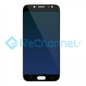 For Samsung Galaxy J7 Pro SM-J730 LCD Screen and Digitizer Assembly Replacement - Black - Grade S+