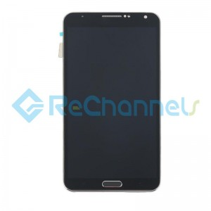 For Samsung Galaxy Note 3 LCD Screen and Digitizer Assembly Replacement - Black - Grade S