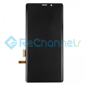 For Samsung Galaxy Note 9 LCD Screen and Digitizer Assembly Replacement - Black - Grade S+