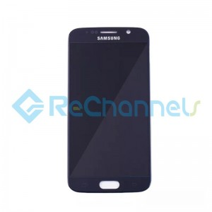 For Samsung Galaxy S6 LCD Screen and Digitizer Assembly Replacement - Blue - Grade S