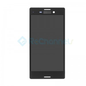 For Sony Xperia M4 Aqua LCD Screen and Digitizer Assembly Replacement - Black - Grade S+