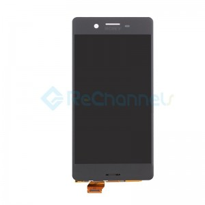 For Sony Xperia X LCD Screen and Digitizer Assembly Replacement - Black - Grade S