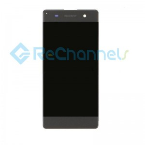 For Sony Xperia XA LCD Screen and Digitizer Assembly Replacement - Black - Grade S