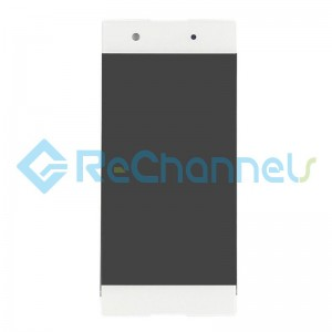 For Sony Xperia XA1 LCD Screen and Digitizer Assembly Replacement - White - Grade S+