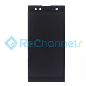 For Sony Xperia XA2 Ultra LCD Screen and Digitizer Assembly Replacement - Black - Grade S+