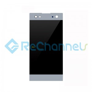 For Sony Xperia XA2 Ultra LCD Screen and Digitizer Assembly Replacement - Silver - Grade S+