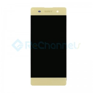 For Sony Xperia XA LCD Screen and Digitizer Assembly Replacement - Gold - Grade S