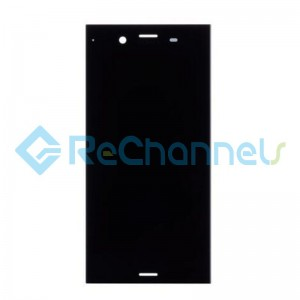 For Sony Xperia XZ1 LCD Screen and Digitizer Assembly Replacement - Black - Grade S+