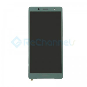 For Sony Xperia XZ2 Compact LCD Screen and Digitizer Assembly Replacement - Moss Green - Grade S+