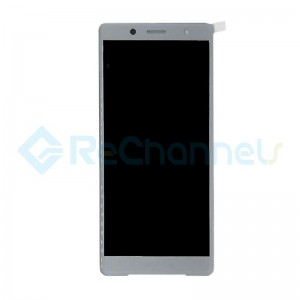 For Sony Xperia XZ2 Compact LCD Screen and Digitizer Assembly Replacement - White - Grade S+