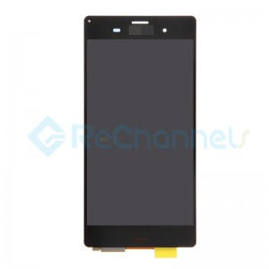 For Sony Xperia XZ3 LCD Screen and Digitizer Assembly Replacement - Black - Grade S+