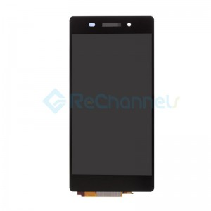 For Sony Xperia Z2 LCD Screen and Digitizer Assembly Replacement - Black - Grade S+