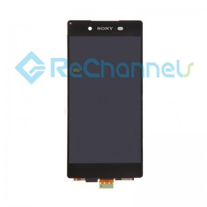 For Sony Xperia Z3+ LCD Screen and Digitizer Assembly Replacement - Black - Grade S
