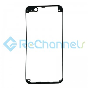 For Huawei Nova 2 plus Touch Screen Frame Replacement - Black - Grade S+