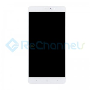 For Xiaomi Mi 5S LCD Screen and Digitizer Assembly with Front Housing Replacement - White - Grade S+