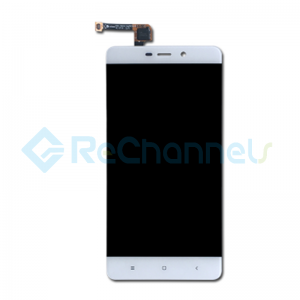 For Xiaomi Redmi 4 Pro LCD Screen and Digitizer Assembly with Front Housing Replacement - White - Grade S