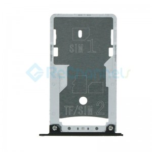 For Xiaomi RedMi 4 SIM Card Tray Replacement - Black - Grade S+