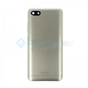 For Xiaomi Redmi 6A Battery Door Replacement - Gold - Grade S+