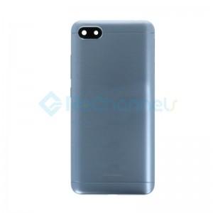 For Xiaomi Redmi 6A Battery Door Replacement - Gray - Grade S+