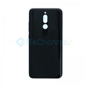 For Xiaomi Redmi 8 Battery Door Replacement - Onyx Black - Grade S+