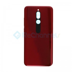 For Xiaomi Redmi 8 Battery Door Replacement - Ruby Red - Grade S+