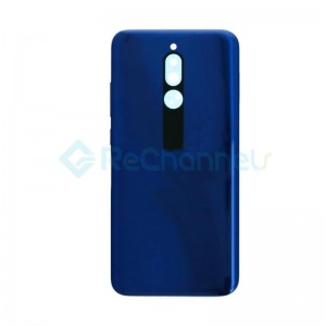 For Xiaomi Redmi 8 Battery Door Replacement - Sapphire Blue - Grade S+