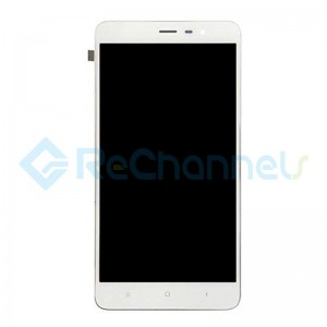 For Xiaomi Redmi Note 3 LCD Screen and Digitizer Assembly with Front Housing Replacement - White - Grade S