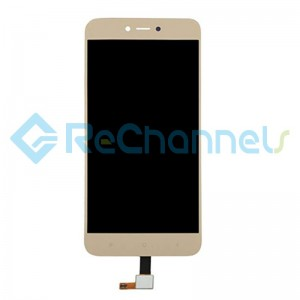 For Xiaomi Redmi Note 5A LCD Screen and Digitizer Assembly Replacement - Gold - Grade S+