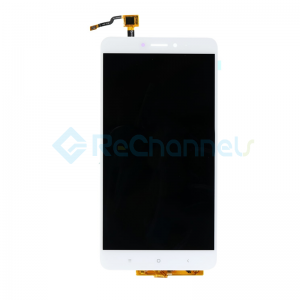 For Xiaomi Max 2 LCD Screen and Digitizer Assembly Replacement - White - Grade S+