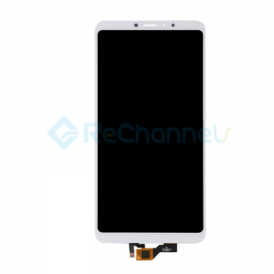For Xiaomi Max 3 LCD Screen and Digitizer Assembly Replacement - White - Grade S+