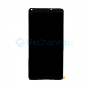 For Xiaomi MIX 2S LCD Screen and Digitizer Assembly Replacement - Black - Grade S+