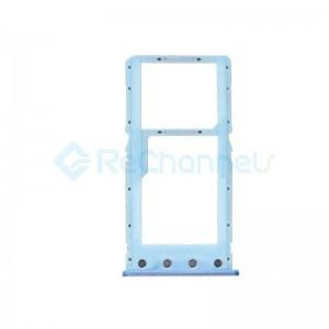 For Xiaomi Redmi 6A SIM Card Tray Replacement - Blue - Grade S+