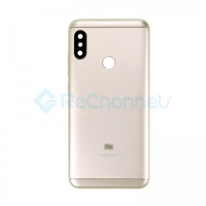 For Xiaomi Redmi 6 Pro Rear Housing Replacement - Gold - Grade S+