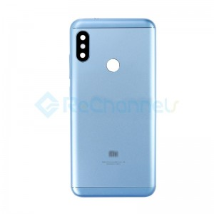 For Xiaomi Redmi 6 Pro Rear Housing Replacement - Blue - Grade S+