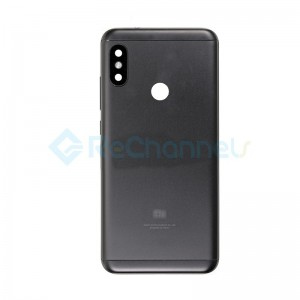 For Xiaomi Redmi 6 Pro Rear Housing Replacement - Black - Grade S+