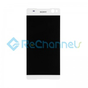 For Sony Xperia C5 Ultra LCD Screen and Digitizer Assembly Replacement - White - Grade S